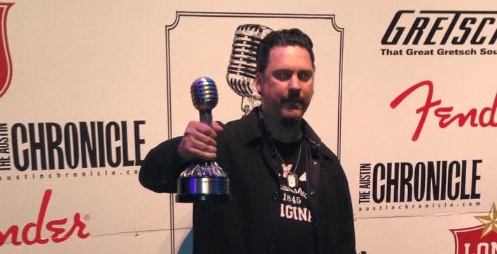 Jesse Dayton Wins An Ameripolitan Award!